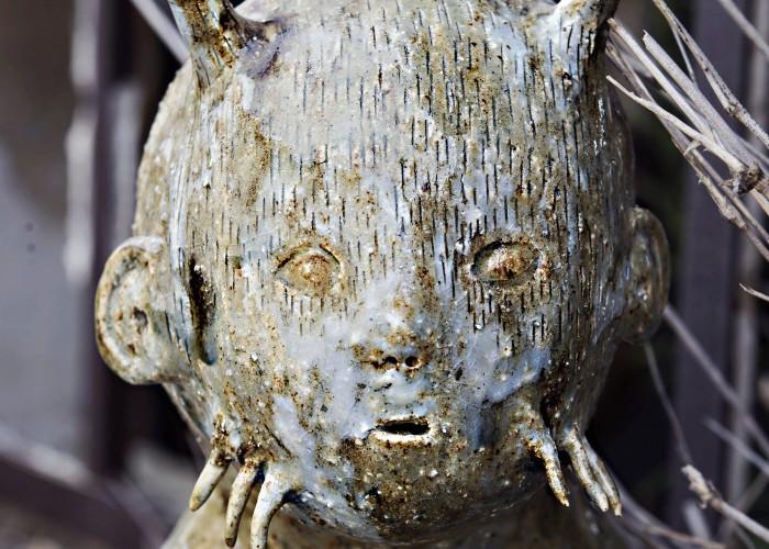 Yokai (visage) - Bertrand Secret © Nathalie Malric