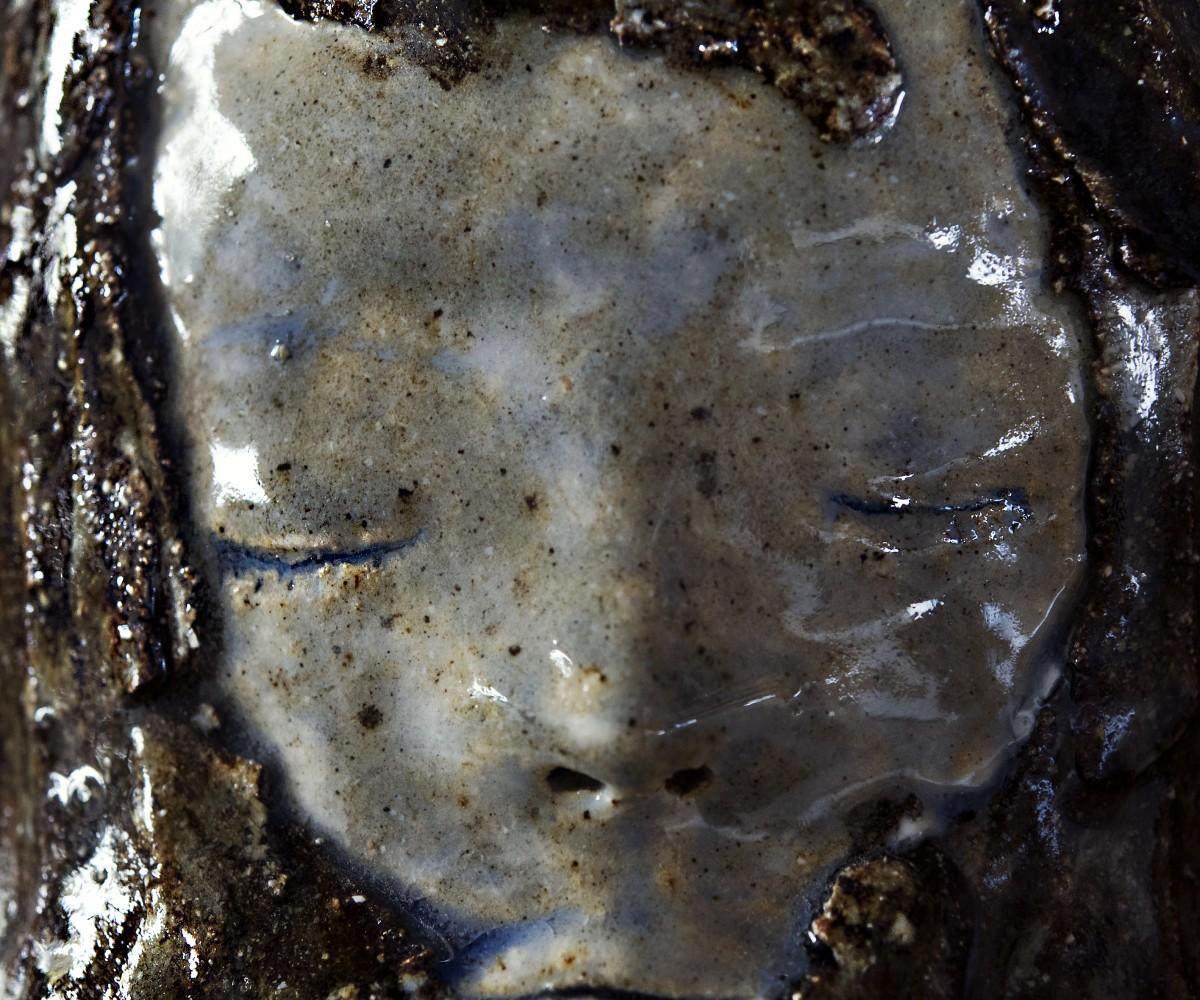 Sous les paupieres (visage) - Bertrand Secret © Nathalie Malric